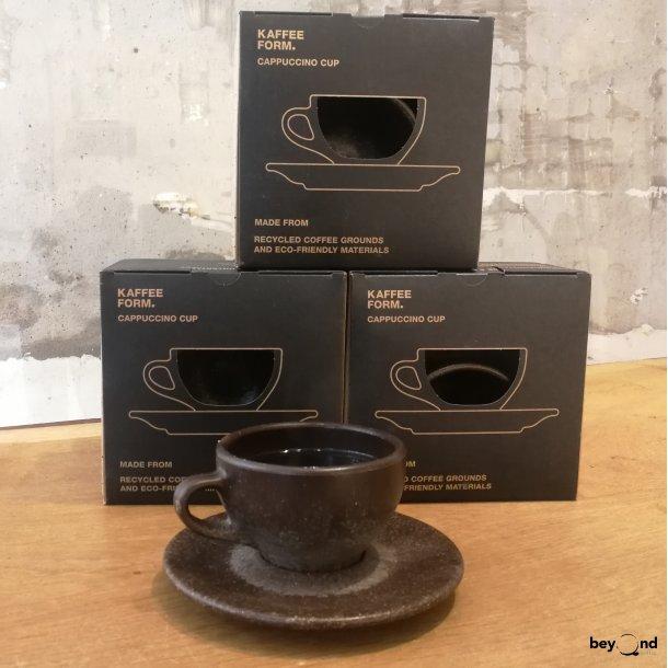 Cappucinokop af kaffegrums